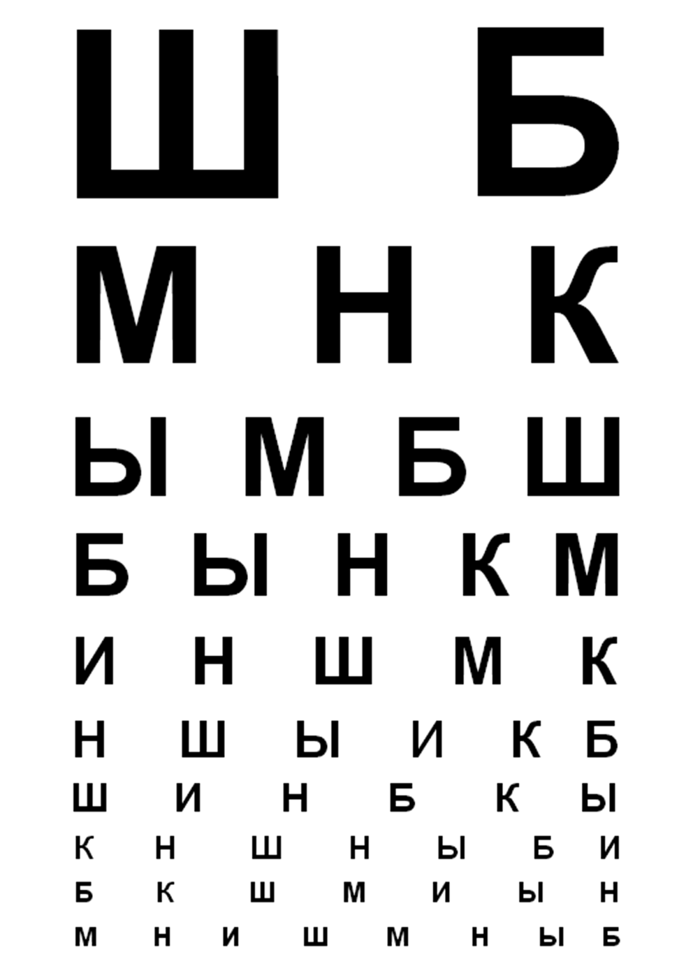 Проверка зрения таблица цветовосприятие